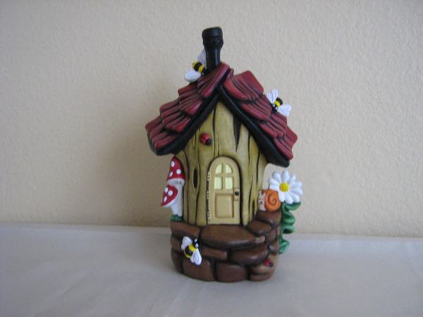 Fairy Houses To Paint Ceramic - Year of Clean Water