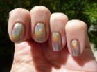 Shampayne Holographic Nail Polish - Full Size Bottle - Enkelini