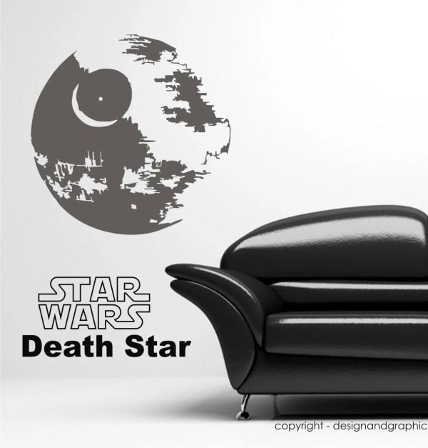 Death Star Vinyl Wall Decal
