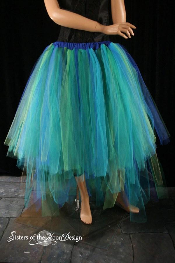 Mermaid Tutu Tulle Skirt Adult Formal Dancer Fantasy Fairytale