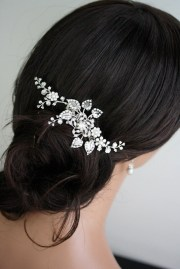 bridal hair comb wedding piece