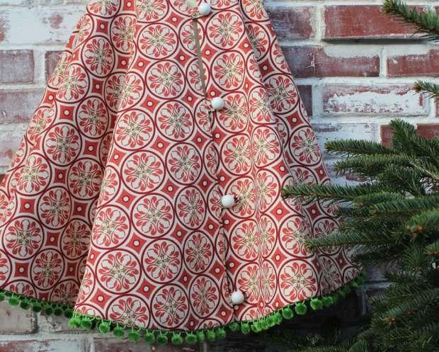 red christmas tree skirt - Christmas Tree Skirts Etsy