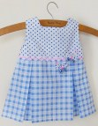 Sewing Baby Dress Pattern Sml With Butterflies