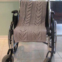 Wheelchair Blanket Timber Ridge Lawn Chair Grey Afghan Special Needs Item By