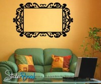 Vinyl Wall Decal Sticker Frame KTudor111B by Stickerbrand ...