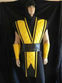 mortal kombat scorpion costume Gallery