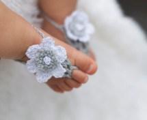Baby Girl Sandals Newborn 9 Months Handmade