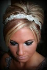 sweetheart bridal rhinestone headband