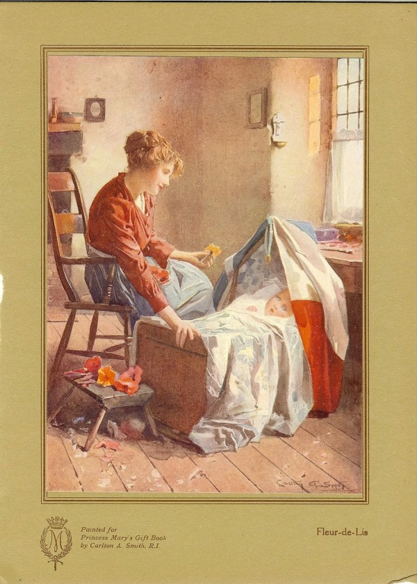 Antique 1915 Print Mother Rocking Baby In Printsandpastimes