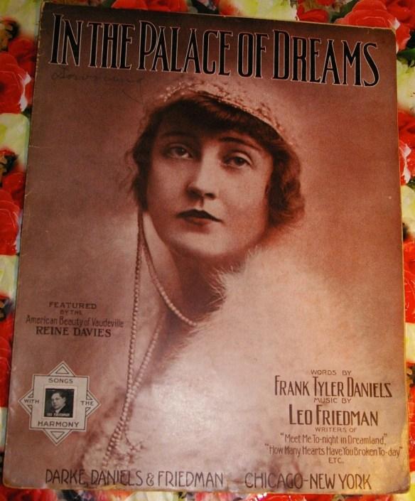 Vintage 1914 Rare Sheet M...
