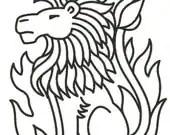 Items similar to Leo Lion Zodiac Horoscope Symbol on a