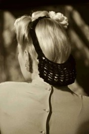 hair snood vintage retro pinup