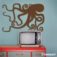 octopus wall decal | Roselawnlutheran