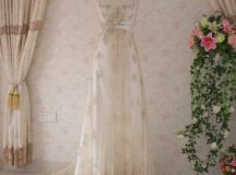 Vintage Inspired Wedding Dress with Light by ...
