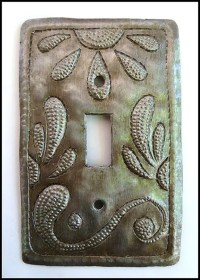 Metal Switchplate Cover Decorative Switch Plate by ...