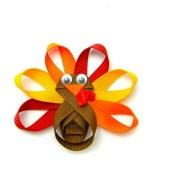 turkey hair clip