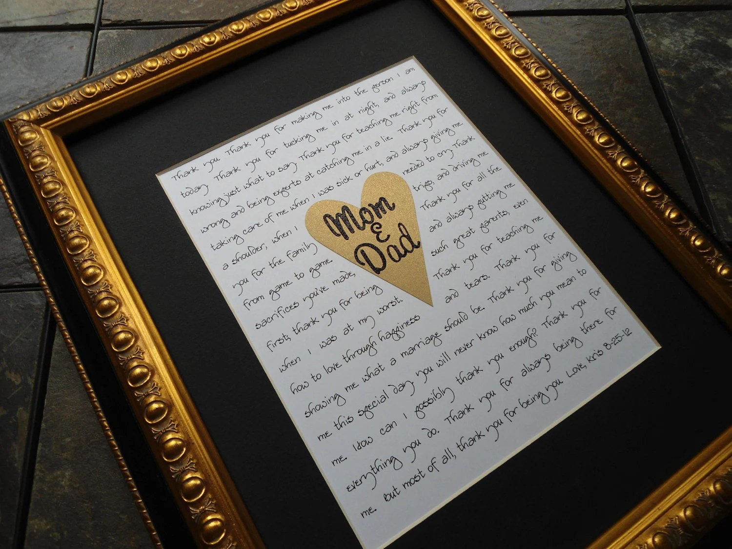 Wedding Gifts For Parents As Seen In Bridalguide.com Mother Of