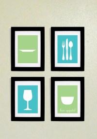 Kitchen Wall Art Printables 5x7 by FelixandFelicityShop on ...
