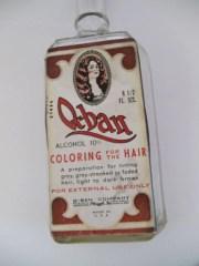 antique -ban hair color bottle
