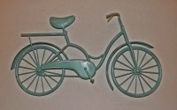 Bicycle Wall Art / Wall Decor / Metal Bicycle / by ...