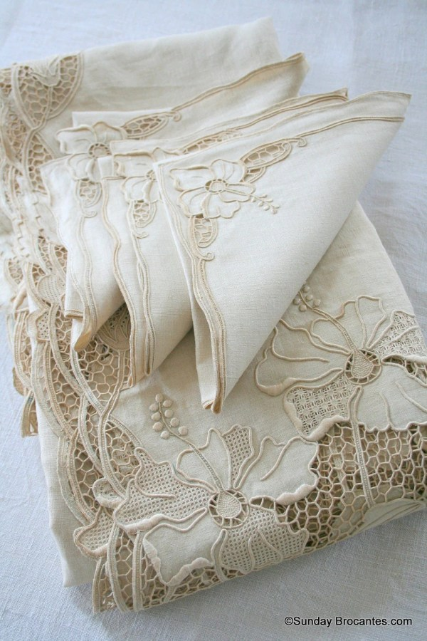 Elegant French Table Linen Set