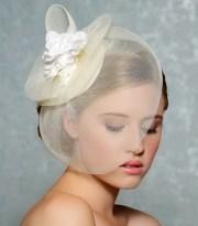 bridal hair fascinator hat