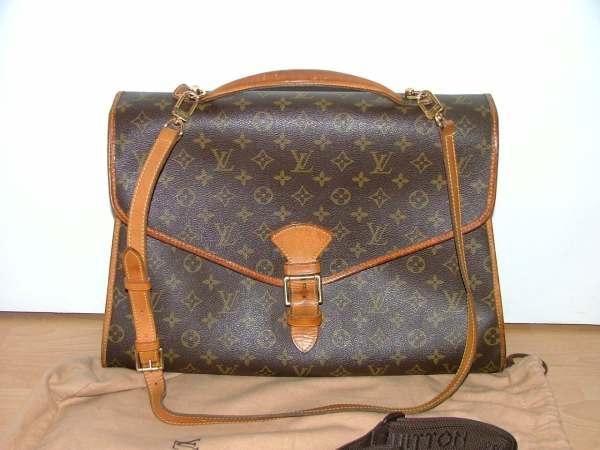 Vintage Louis Vuitton Bag Beverly Briefcase Large Satchel