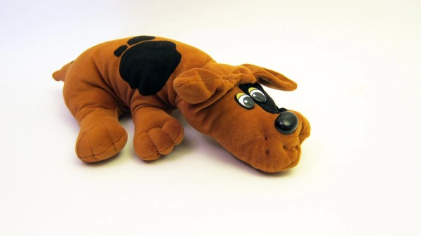 Vintage Pound Puppies 80' Brown With Black Spots Toys
