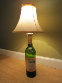 Cork stopper lamp kit Make your own lamp