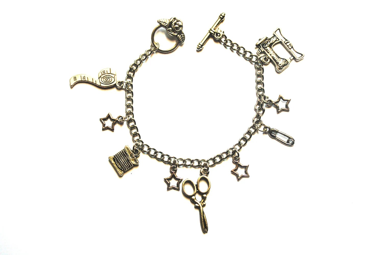 Sew Charm-ing Bracelet