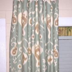 Kitchen Curtain Fabric For Sale Fun Gadgets Java Spa Ikat Panels