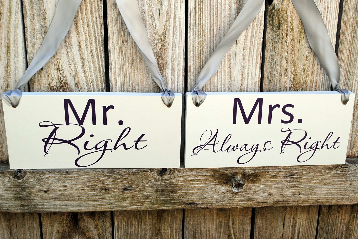 mr and mrs chair signs childs outdoor wood wedding right always by signstoliveby