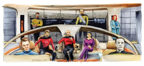 Star Trek The Next Generation 25th Anniversary Make it So