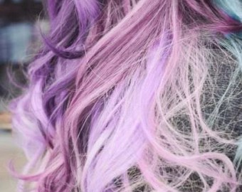 items similar to hair chalk temporary color for your hair dip dye pastels pick your color on