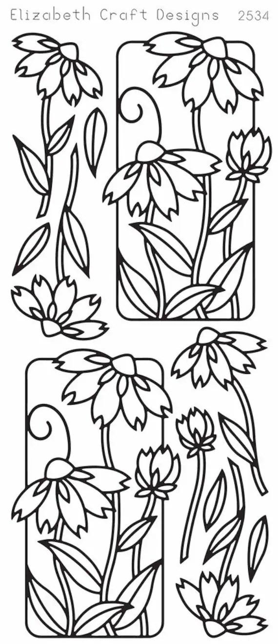 Elizabeth Craft Designs Peel-Off Sticker 2534B by PNWCrafts