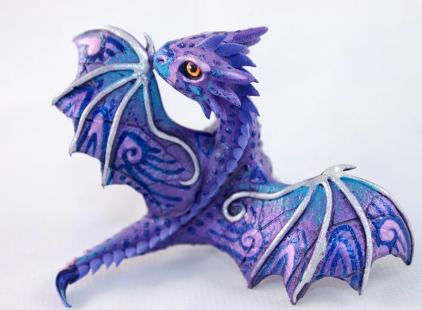Cute Purple Dragon