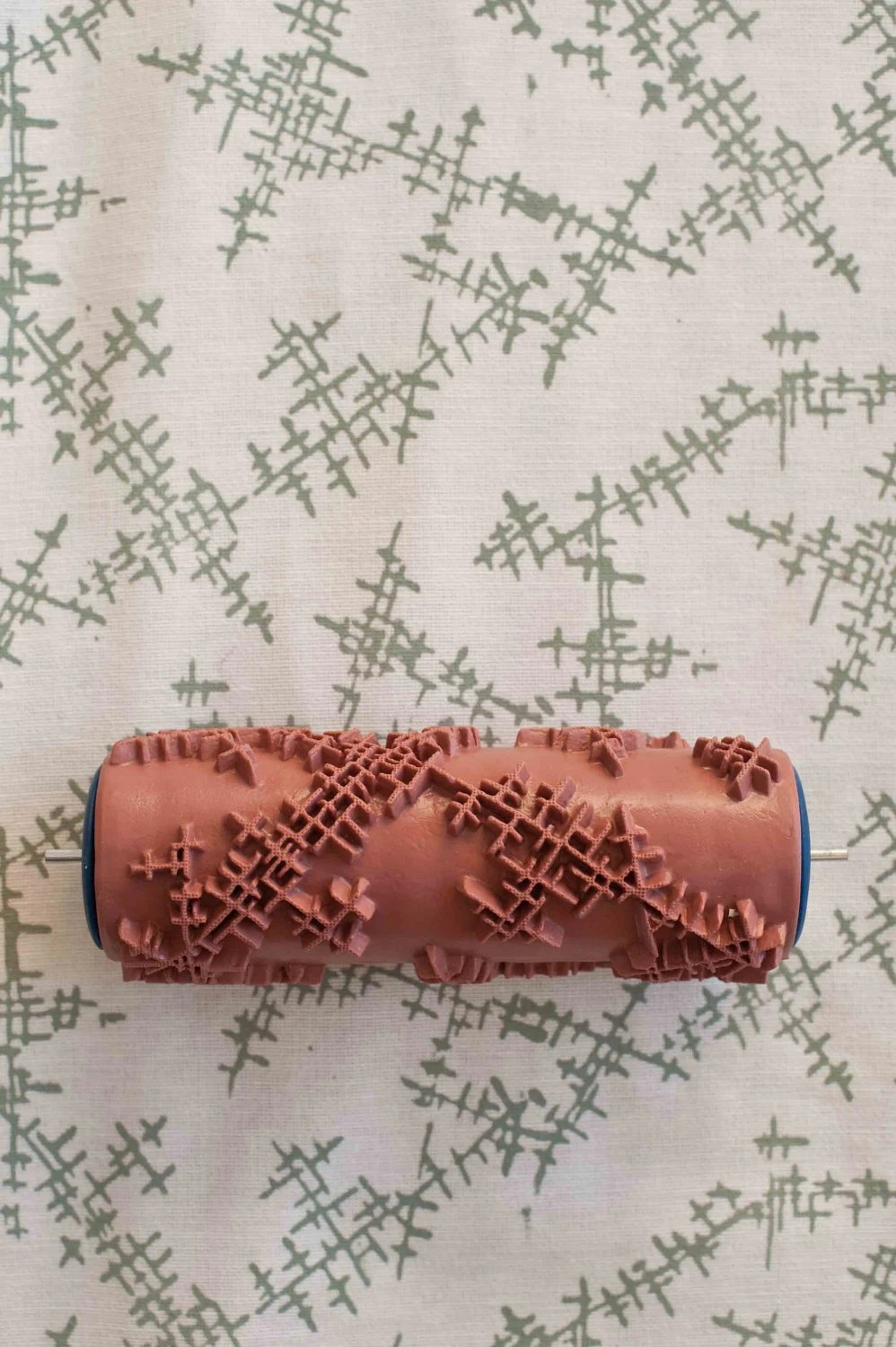 No. 11 Patterned Paint Roller from The Painted House