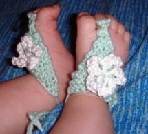Baby Sandals Barefoot Flower Pdf