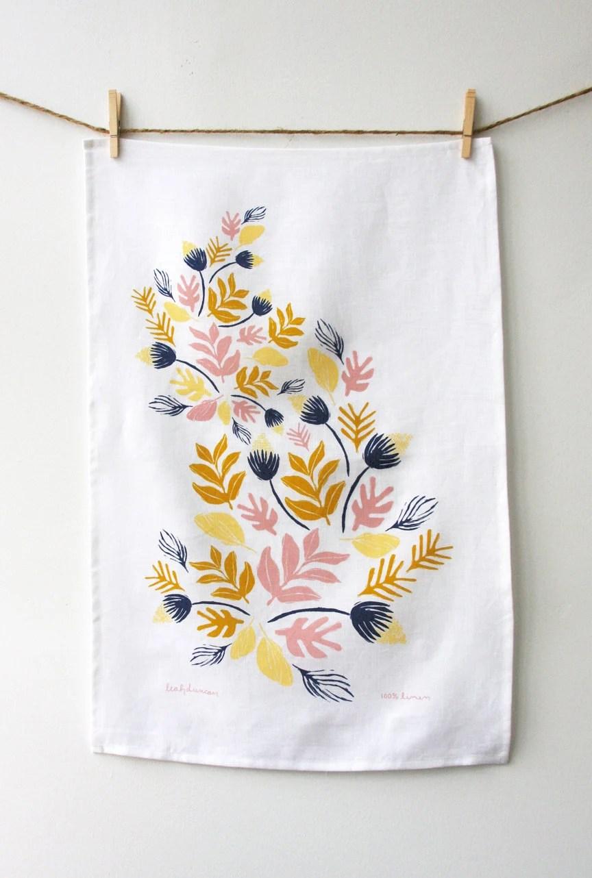 Sprouts Tea Towel - leahduncan