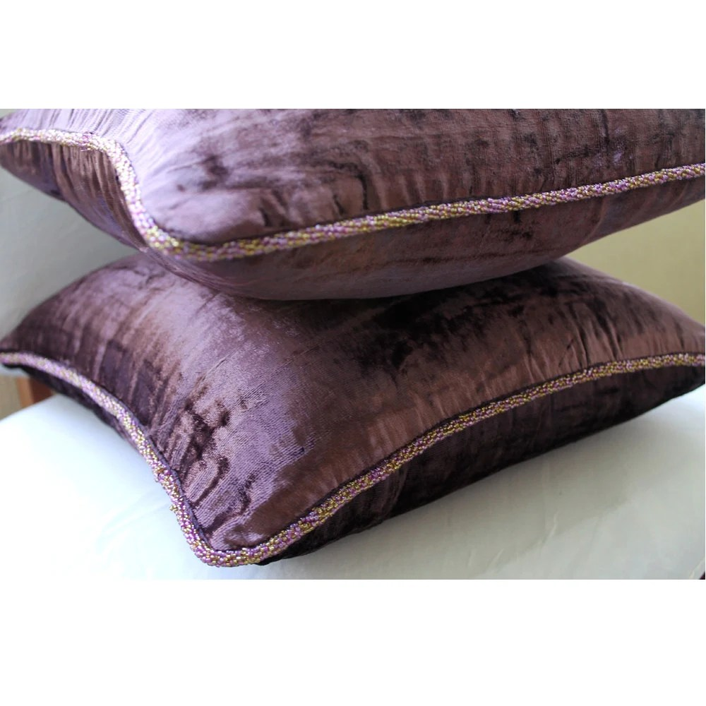 Decorative Euro Sham Covers 26x26 Inch Accent Couch Pillow