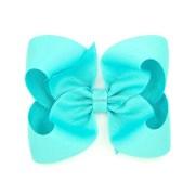 turquoise hair bow 4 basic