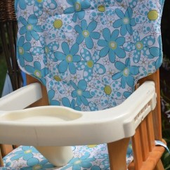 Graco Space Saver High Chair Cheap Dining Tables And Chairs Eddie Bauer Cover Dots & Daisies By Sewplicity