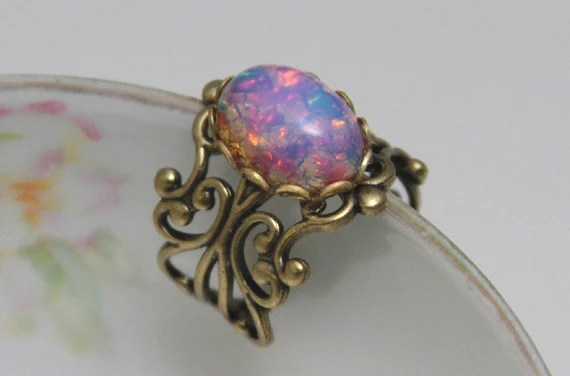 Ring Silber Opal