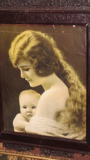 Items Similar To Antique Early 1900s MOTHER Long Blond
