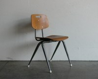 Vintage Industrial/Mid Century Modern Plywood Side Chair ...