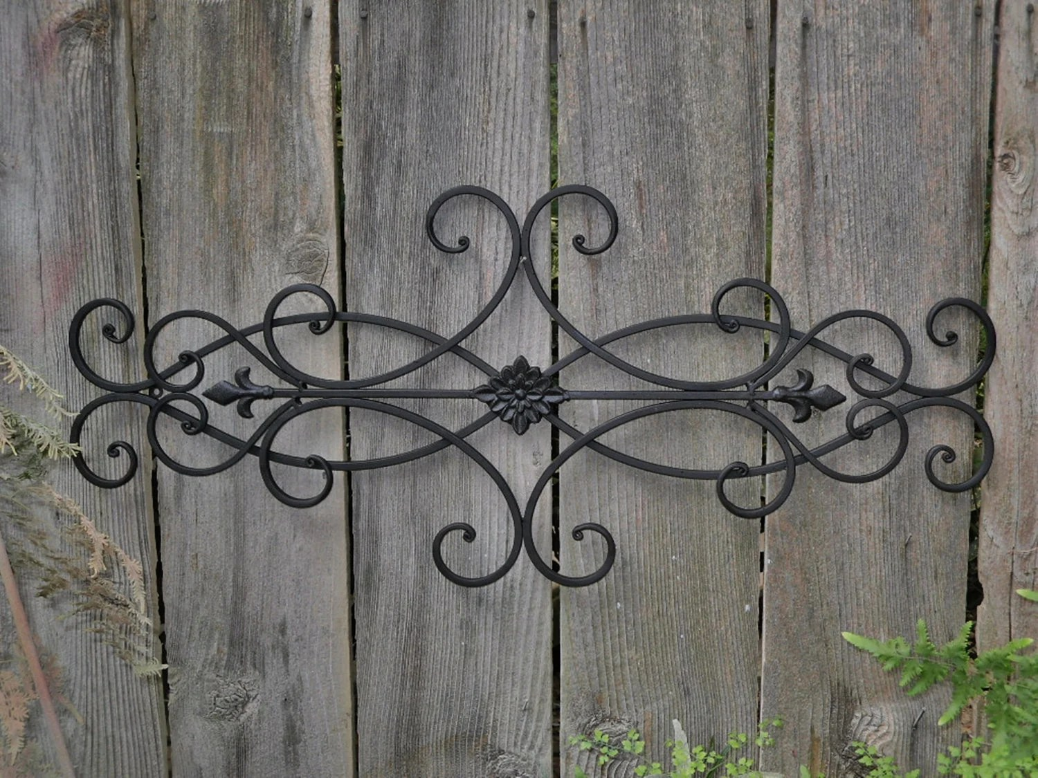 Wrought Iron Outdoor Decor