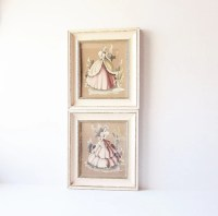 Southern Belle Turner Vintage Wall Art Gone With The by