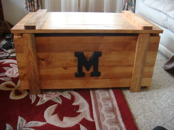 Wooden Toy Box Chest