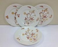 Americana Dreamer Royal China Dessert Plates Ceramic
