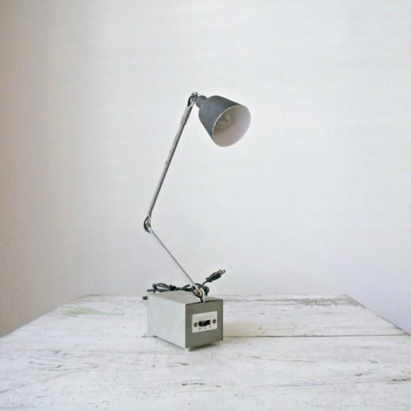 Reserved. Vintage Tensor Lamp 5975 Mini Industrial Rustic